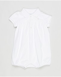Polo Ralph Lauren - Bubble One Piece Shortalls - Babies