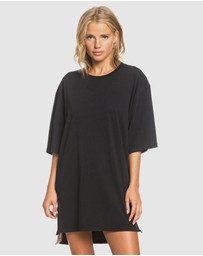 Roxy - Womens Boweled Over Oversized T Shirt Dress