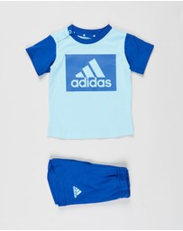adidas Performance - Essentials Tee & Shorts Set - Babies