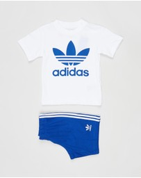 adidas Originals - Short & Tee Set - Babies-Kids