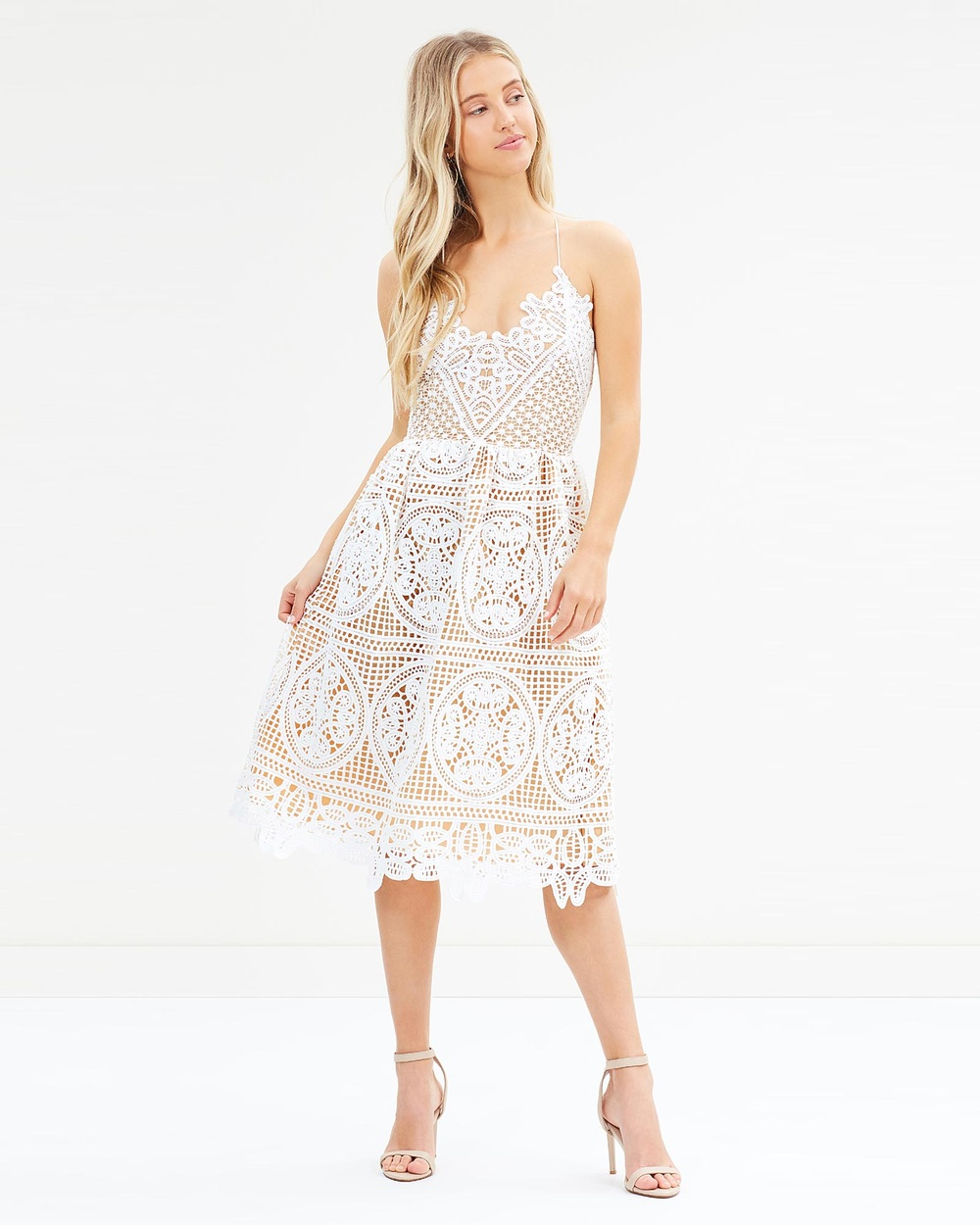Twosister's The Label Annabelle Dress Dresses White Annabelle Dress