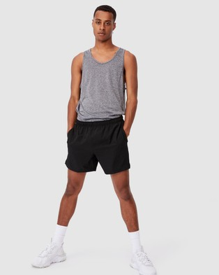 Cotton On Active Tech Tank - Muscle Tops (Grey Space Marle)