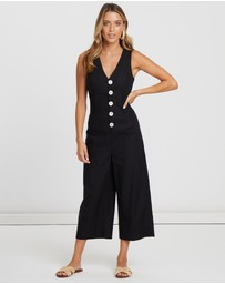 Alys - Madison Linen Jumpsuit