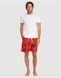 Sant And Abel - Christmas Eve Sleep Shorts