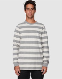RVCA - Shallow End Stripe Long Sleeve Tee