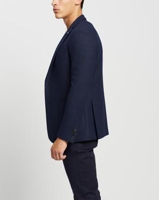 Calvin Klein - Slim Fit Blazer Suits & Blazers (DENIM BLUE)
