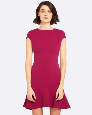 Oxford – Confessions Stretch Dress Deep Orchid