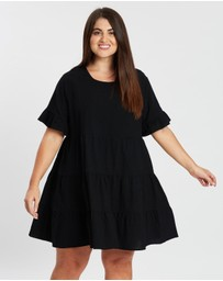 Atmos&Here Curvy - ICONIC EXCLUSIVE - Lily Smock Dress