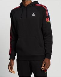 adidas Originals - Adicolour 3D Trefoil 3-Stripes Hoodie