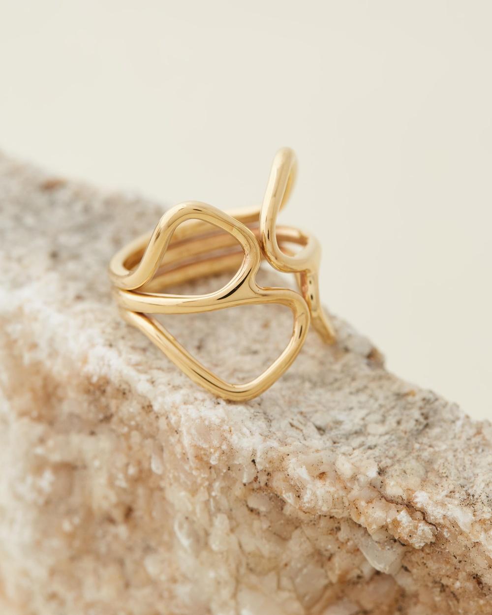 Soko Waridi Ring Jewellery Gold
