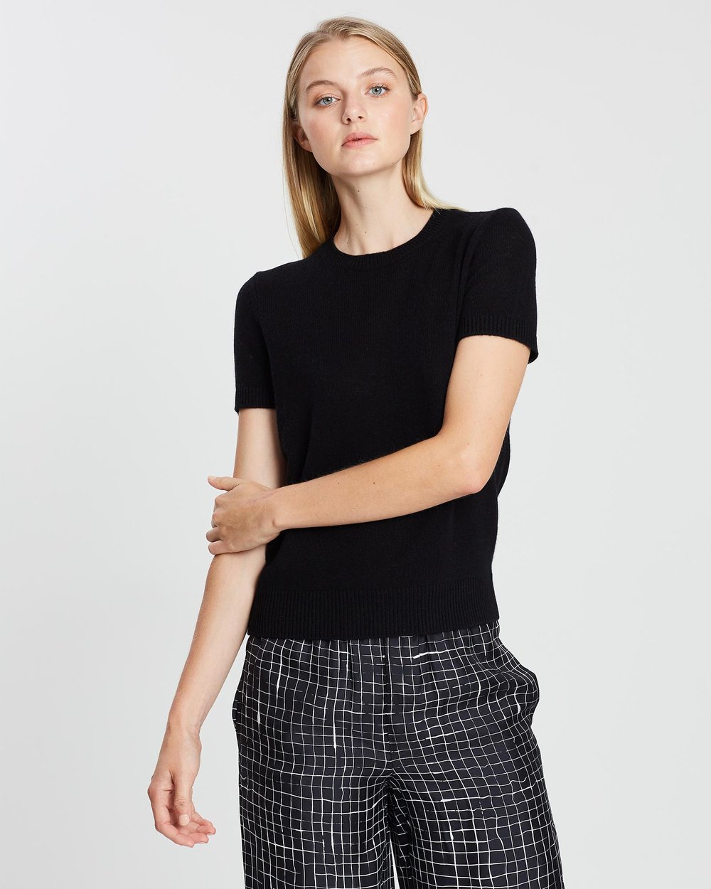 3287cee2c18 Basic Cashmere Tee by Theory Online   THE ICONIC   Australia