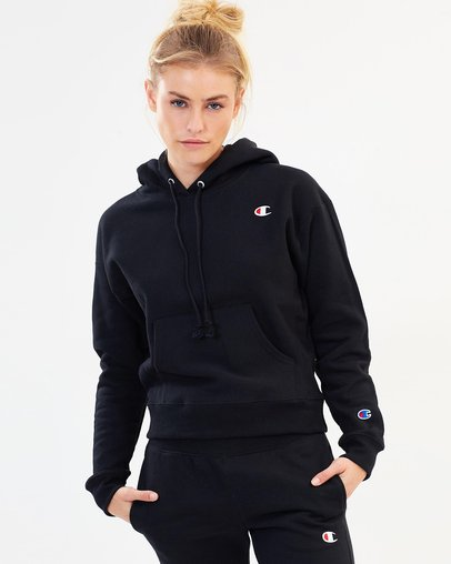 ab1b58242cf87 Reverse Weave Pullover Hoodie Chenille Script - Women s by Champion Online