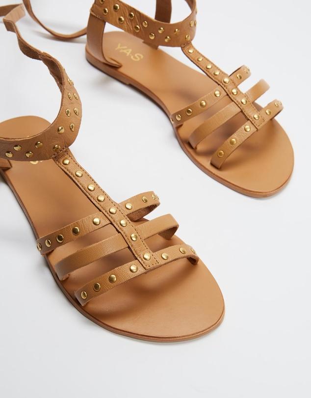 Women Glazilla Leather Sandals