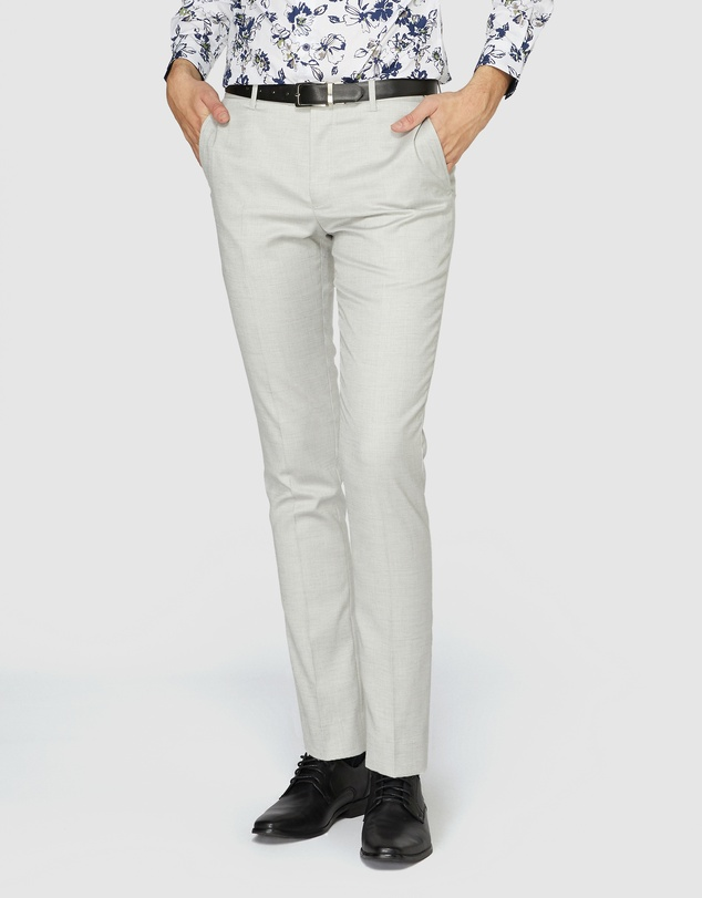 Jack London - Light Grey Suit Pants