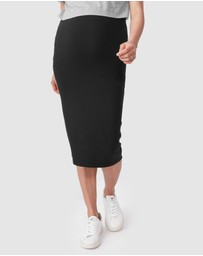 Pea in a Pod Maternity - Ayla Jersey Pencil Skirt