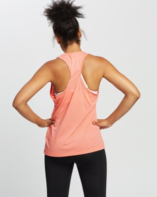 Reebok Performance Identity Tank Top - Muscle Tops (Twisted Coral)
