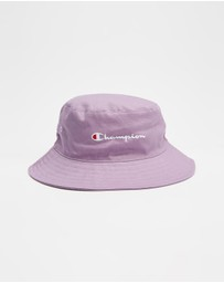 Champion - Script Bucket Hat - Kids-Teens