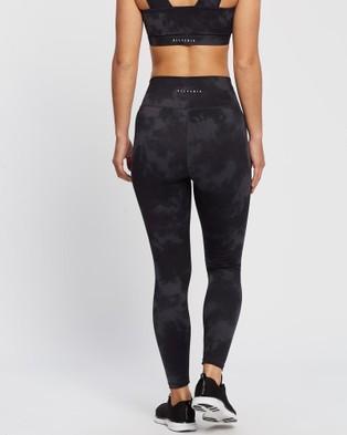 All Fenix Aryah 7 8 Leggings - 7/8 Tights (Charcoal & Black)