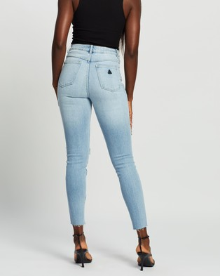 Abrand A High Skinny Ankle Basher Jeans - High-Waisted (Lonestar)