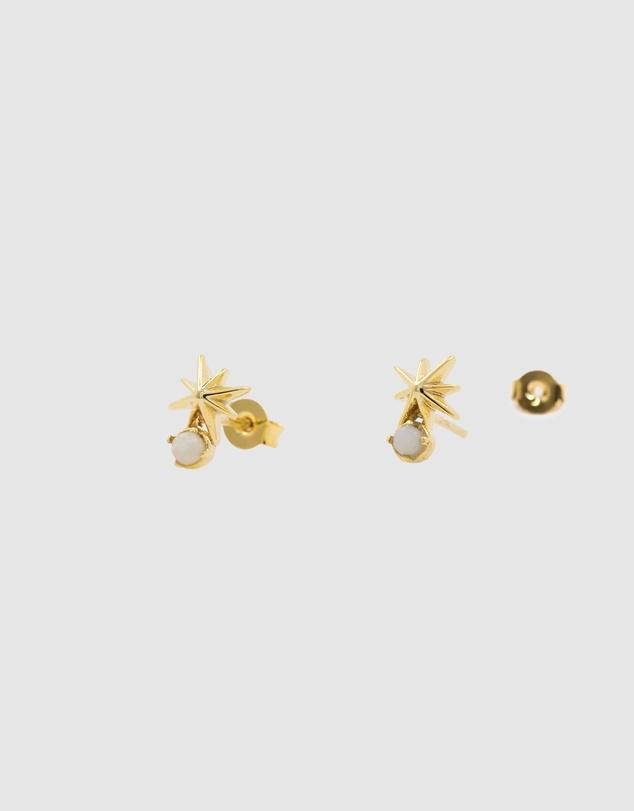 Women Shooting Star Amazonite Earrings