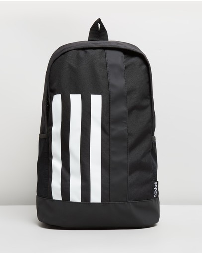Adidas Performance 3-stripes Linear Backpack Black & White