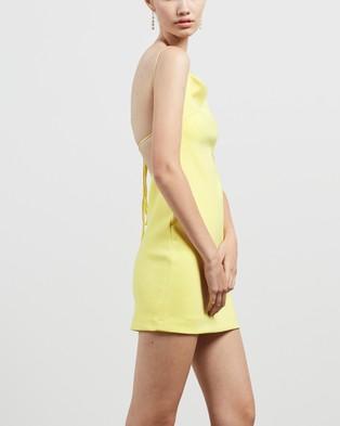 Bec + Bridge Faye Mini Dress - Dresses (Lemon)