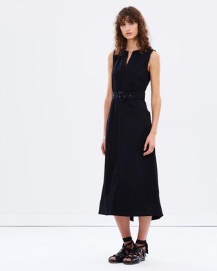 Joseph – Teddy Woven Dress – Dresses (Black)