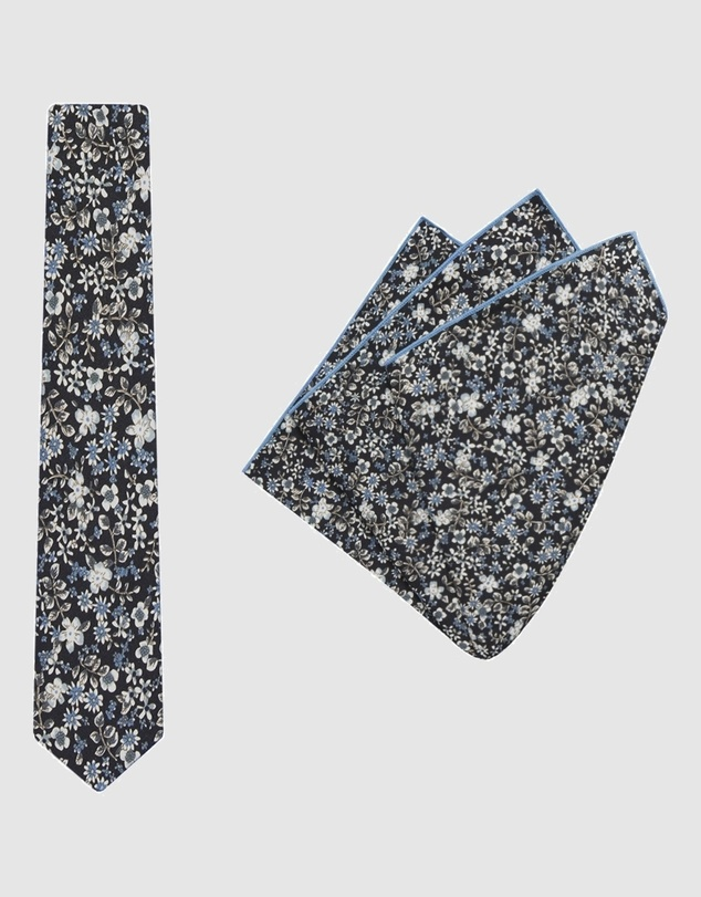 Buckle - Vintage Tie & Pocket Square Set