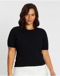 Atmos&Here Curvy - Jacy Knitted Top