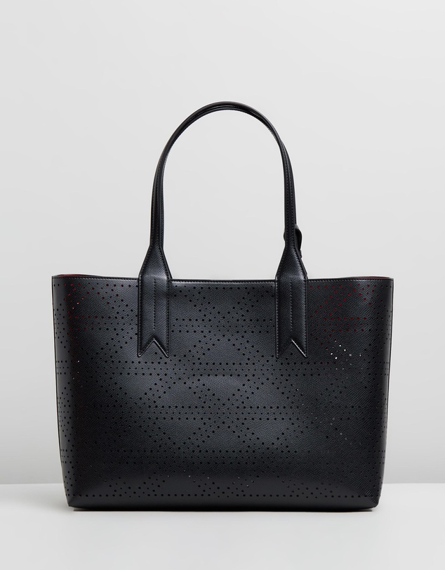Emporio Armani - Perforated Shopping Bag