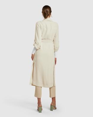 Forever New Maria Trench - Coats & Jackets (Stone)