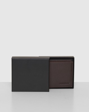 Republic of Florence Puccini Bi fold Soft Leather Wallet - Wallets (Chocolate)