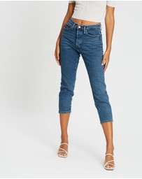 ONLY - Josie High-Rise Slim Straight Jeans