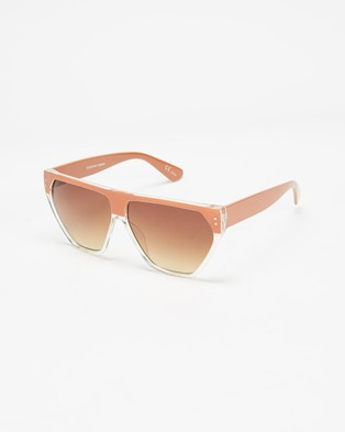MINKPINK Overture - Sunglasses (Tan & Nougat)