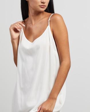 Morrison Oden Slip Dress - Dresses (Ivory)