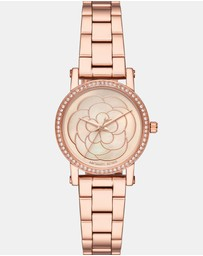 Michael Kors - Norie Silver-Tone Analogue Watch