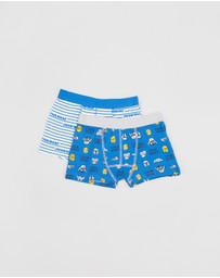 Cotton On Kids - 2-Pack Licence Trunks - Kids