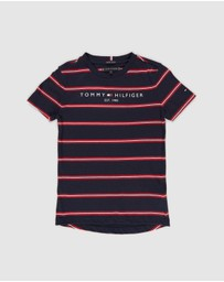 Tommy Hilfiger - Essential Stripe Tee - Kids