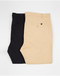 2-Pack Staple Plus Chinos