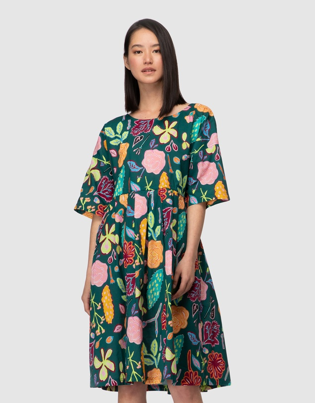 Gorman - Pitched Petals Sadie Dress