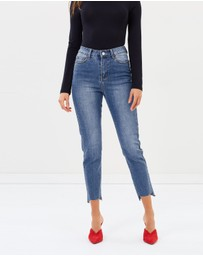 Atmos&Here - ICONIC EXCLUSIVE - Jessie Step Hem Skinny Jeans