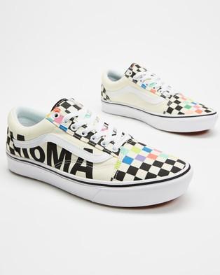 Vans ComfyCush Old Skool MoMA   Unisex - Sneakers (Multi)