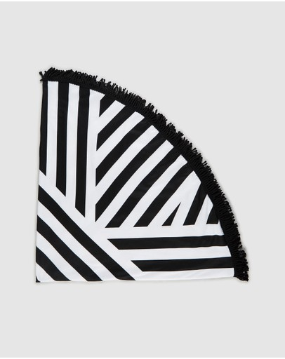 Decjuba Kids - Stripe Circle Towel