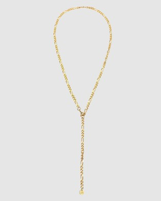 Elli Jewelry Necklace Y Chain Basic Minimalist Elegant in 925 Sterling Silver Gold Plated - Novelty Gifts (Gold)