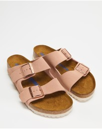 Birkenstock - Arizona Regular Soft Footbed Suede Leather - Women's