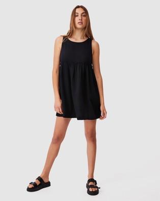 Cotton On Body Drop Armhole Beach Dress - Swimwear (Black)