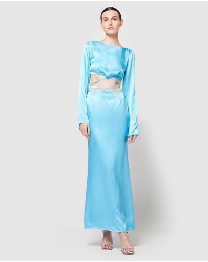 Atoir Belle Ame Dress Cyan Blue