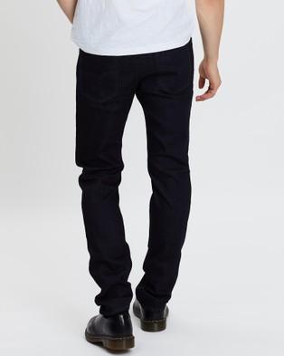 Diesel Buster Tapered Jeans - Slim (Dark Blue)