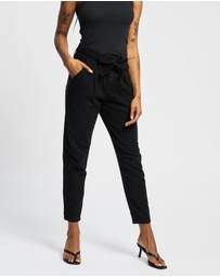 Dorothy Perkins - Tie Waist Tapered Jean