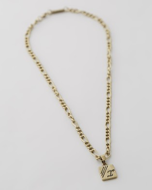 Icon Brand Figaro Chain Necklace - Jewellery (Gold)